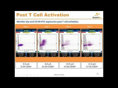 Accelerate CAR-T R&D with Simultaneous Coulter Principle and 2-Color Flow Cytometry Cell Analysis